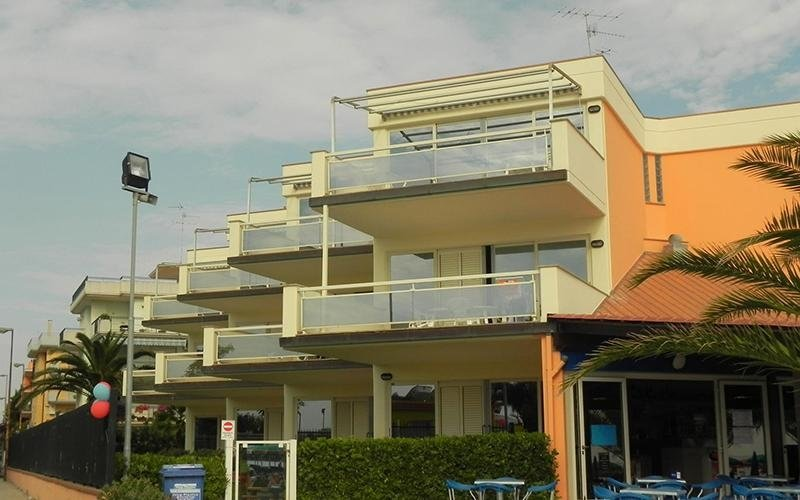 Residence con spiaggia
