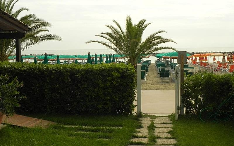 Residence con spiaggia personale