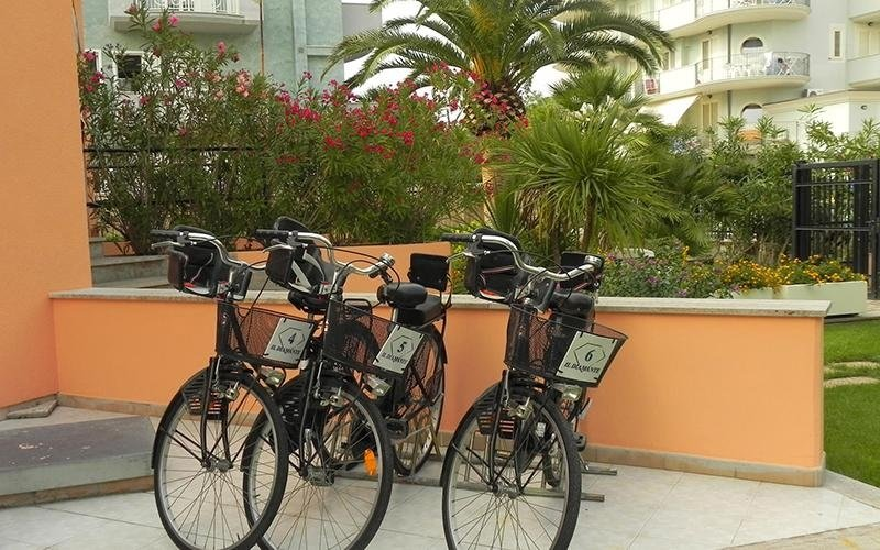 Residence affitto biciclette