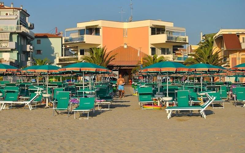 Residence con spiaggia