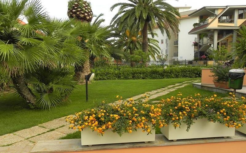 Residence con giardino privato
