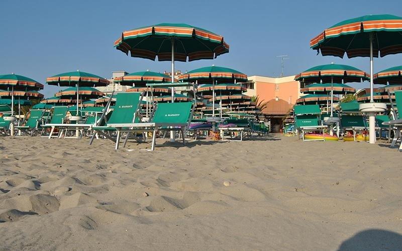 Residence con spiaggia custodita