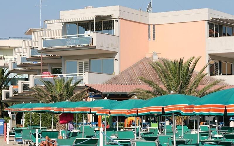 Residence con spiaggia personale