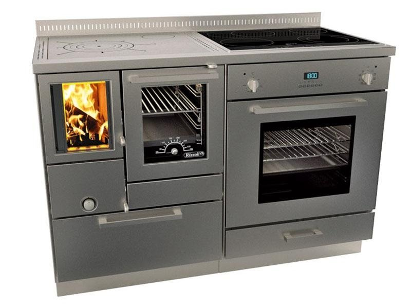 Cucine a Legna Rizzoli SERIE RVE COMBI CON FORNO - RVE 120 COMBI