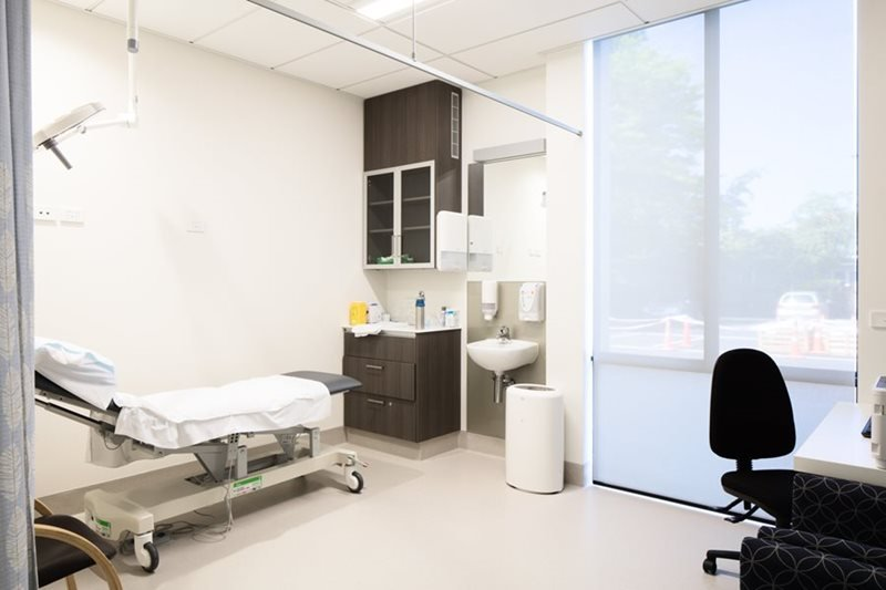 Interior view of the clinic renovated by experts