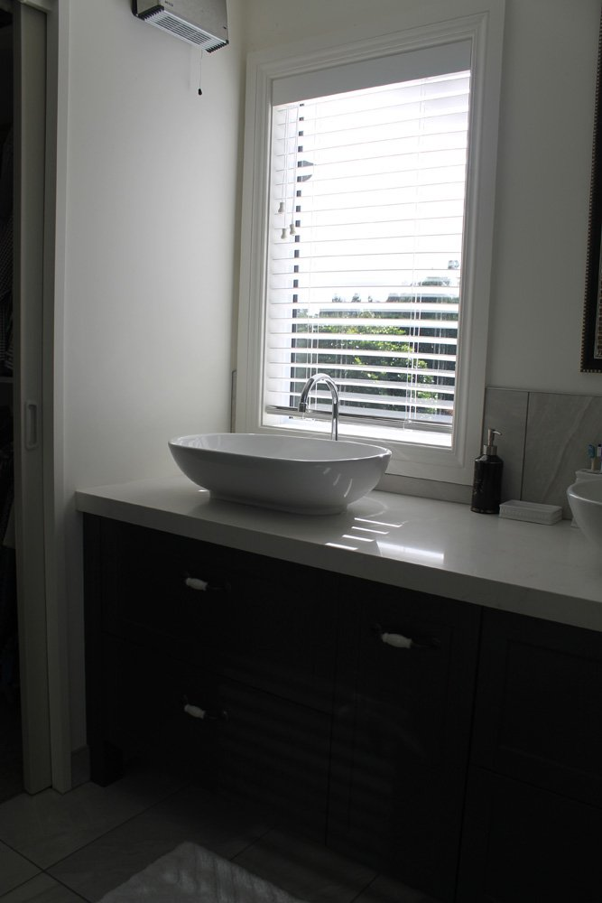 View of the bathroom fitted with various accessories in Christchurch