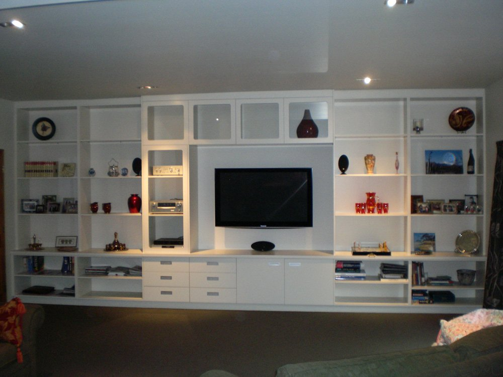 View of the TV Cabinet designed by experts