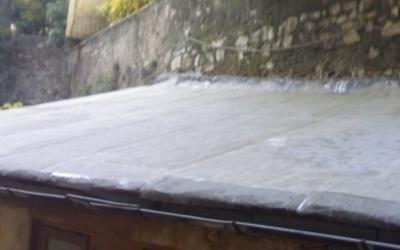 intervento impermeabilizzazione tetto