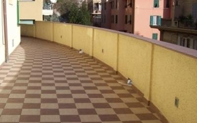 Pavimentazione terrazza posa