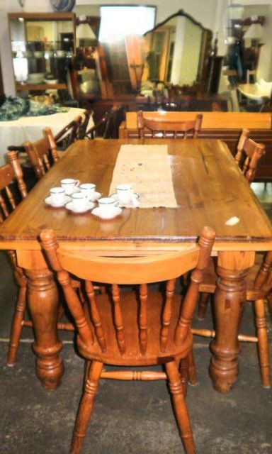 second hand city dining table