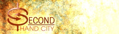 second hand city business logo