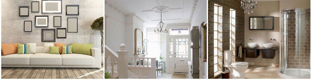 after interior decoration