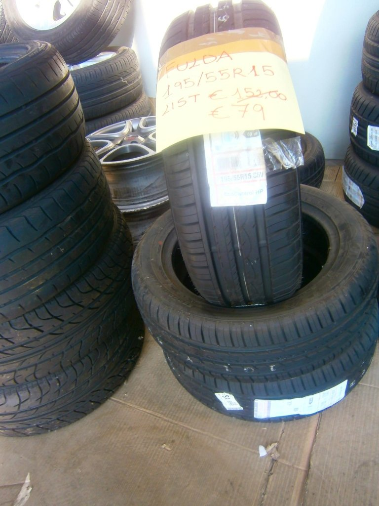gomme nuove fulda 195/55R15