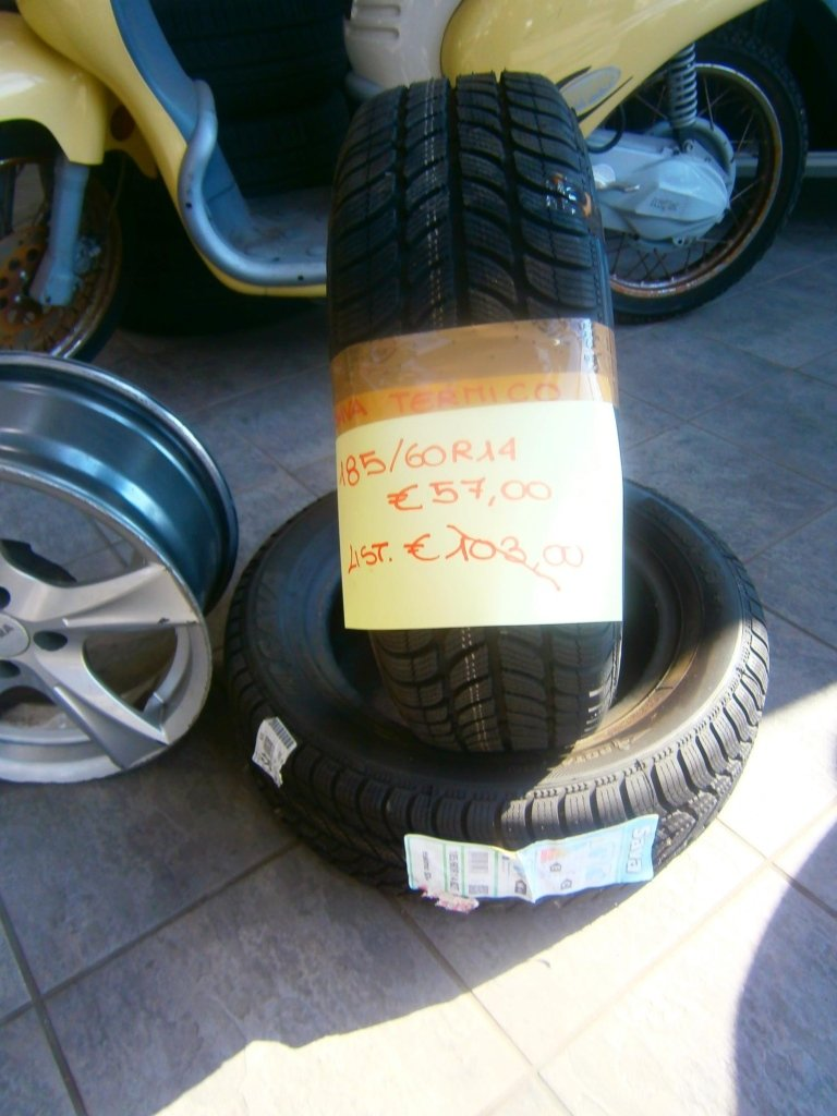 gomme nuove sava 185/60R14