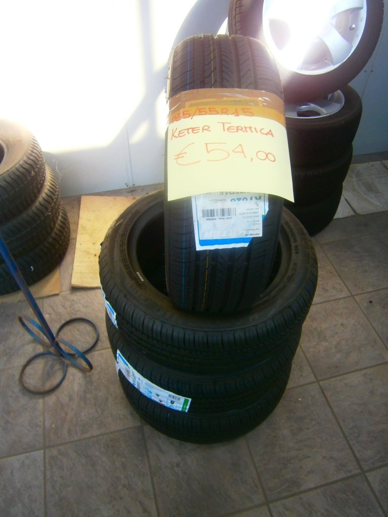 gomme nuove keter termiche 185/55R15