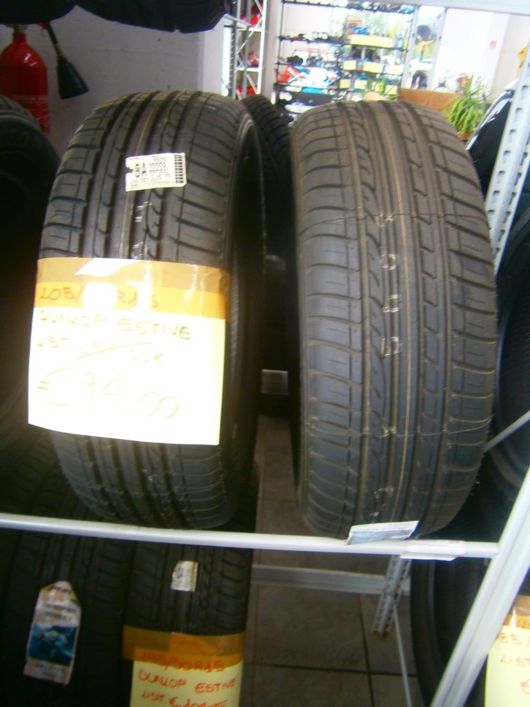 gomme nuove dunlop estive 205/60R15