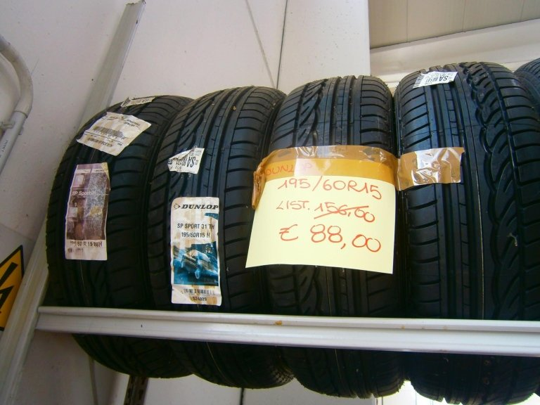 gomme nuove dunlop 195/60R15