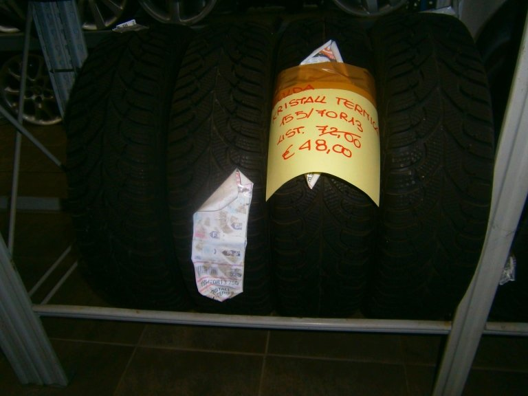 gomme nuove fulda kristall termiche 155/70R13