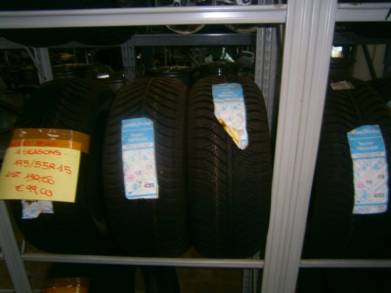 gomme nuove goodyear 4 season 195/55R15
