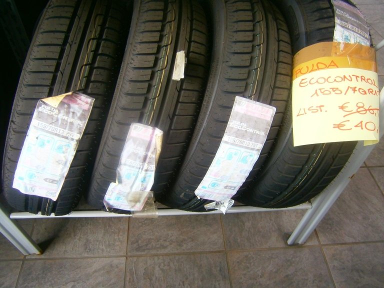 gomme nuove fulda ecocontrol 155/75R13