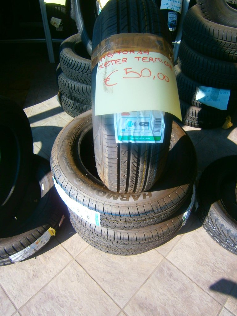 gomme nuove keter termiche 175/70R14