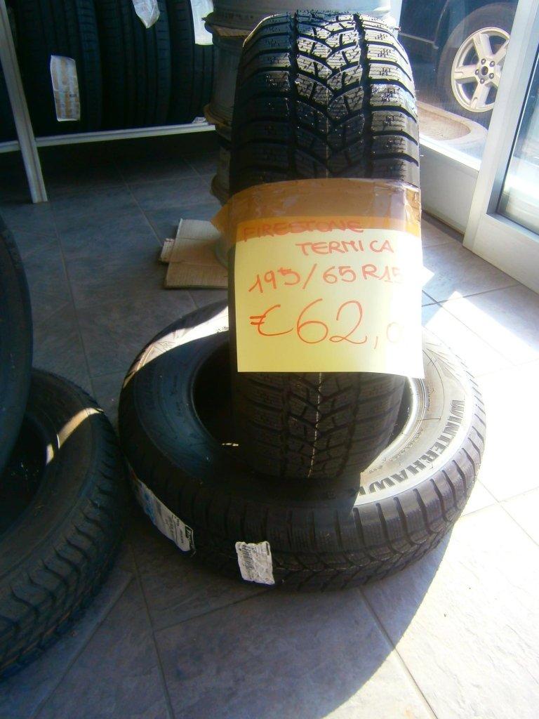 gomme nuove firestone termiche 195/65R15
