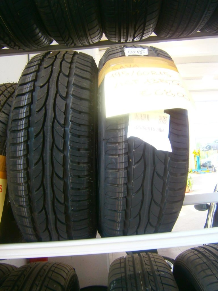 gomme nuove sava 195/60R15