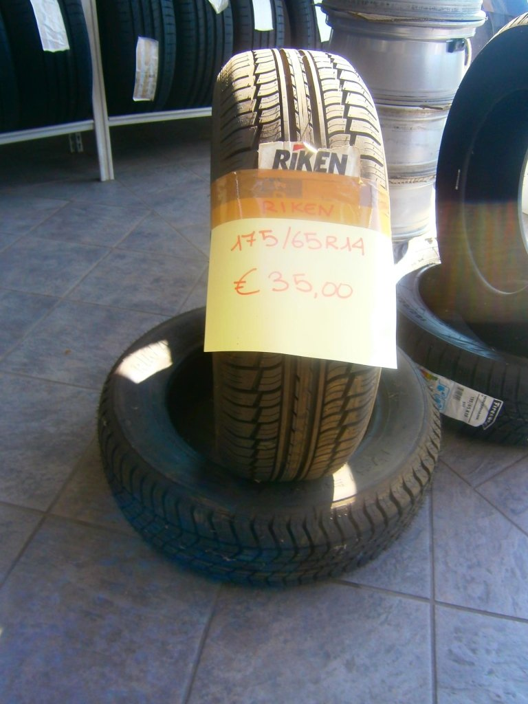 gomme nuove riken 175/65R14
