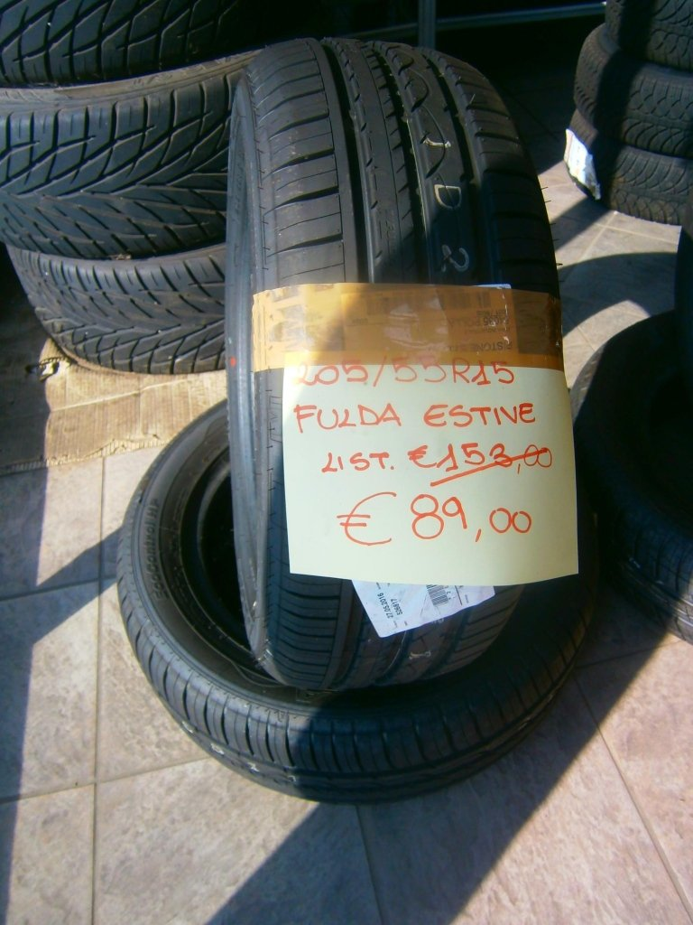 gomme nuove fulda estive 205/55R15