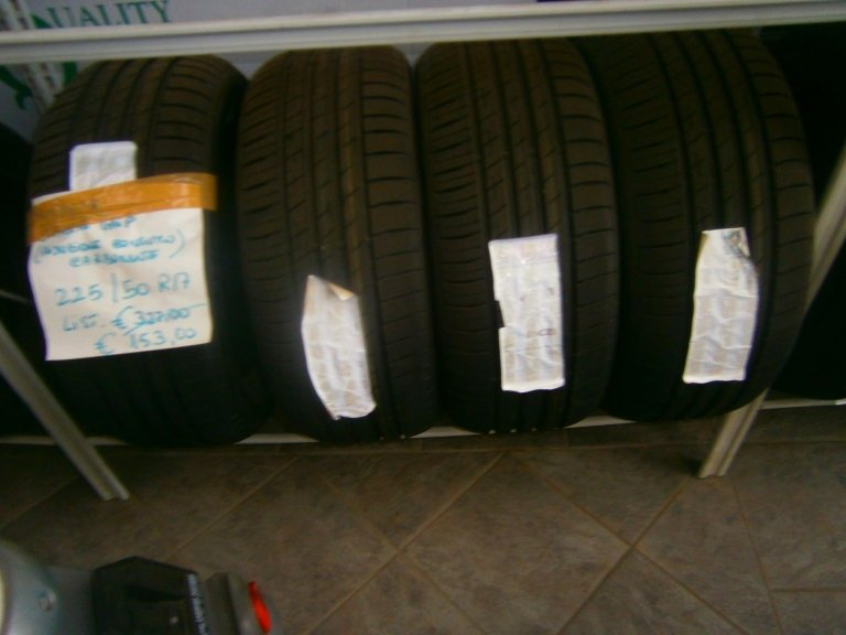 gomme nuove goodyear efficient grip 225/5R17