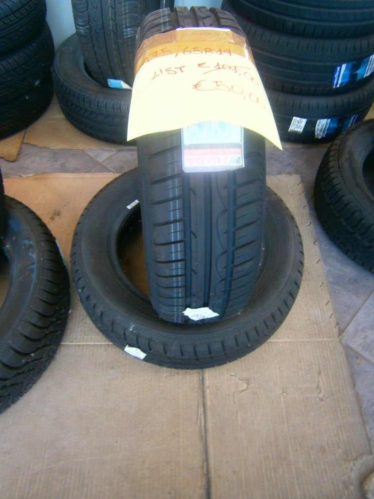 gomme nuove fulda 175/65R14