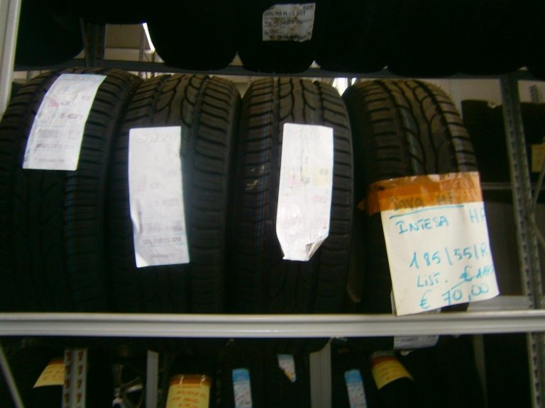 gomme nuove hp intesa 185/55R15