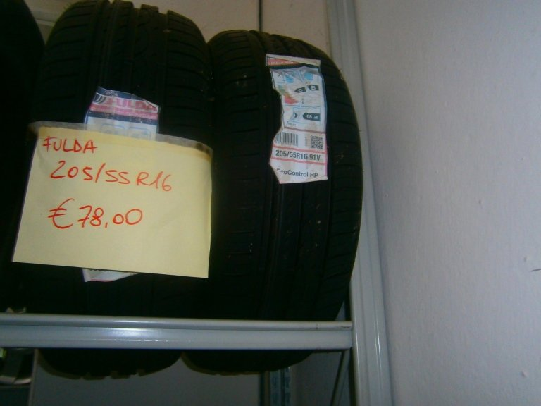 gomme nuove fulda 205/55R16