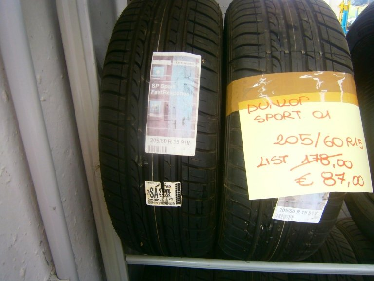 gomme nuove dunlop sport 01 205/60R15