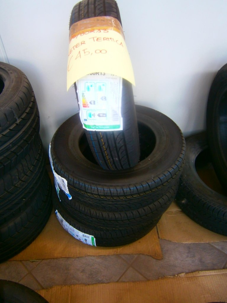 gomme nuove keter termiche 155/80R13