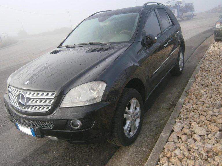 mercedes ml 320 del 2007 320 a diesel usata lato anteriore sx