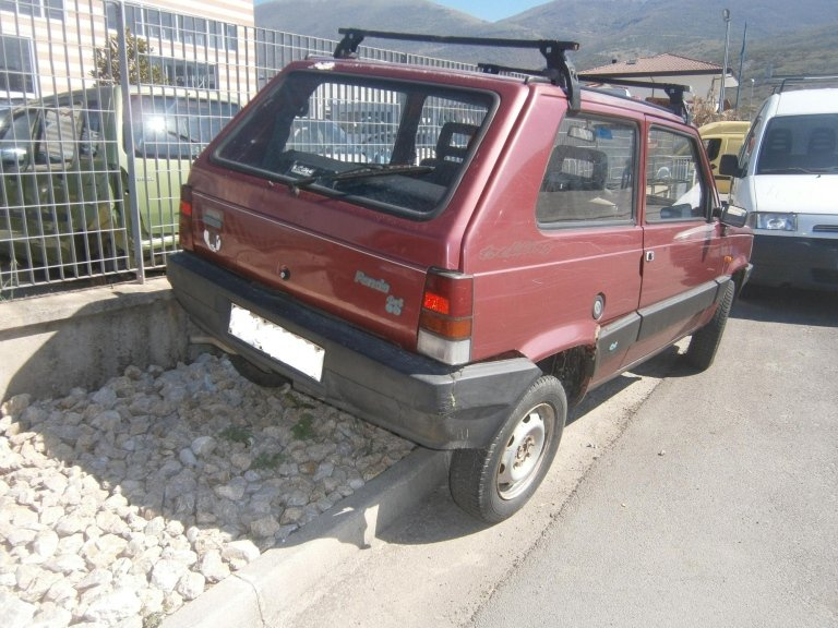 fiat panda 4x4 del 1992 1.0benzina