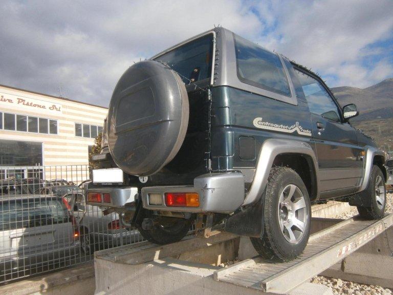 daihatsu feroza del 1998 1.6 benzina posteriore dx