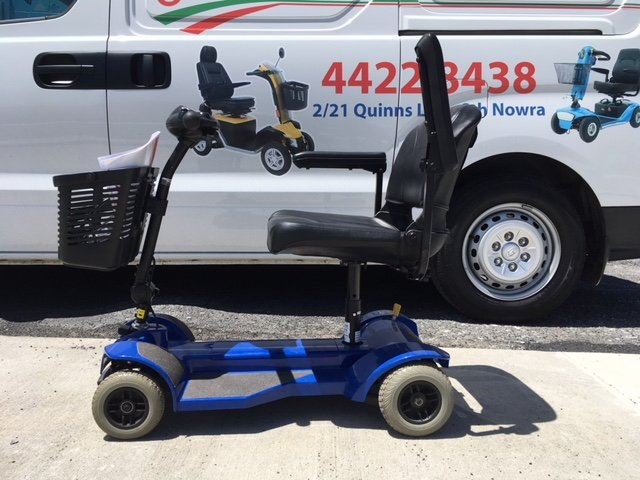 Pride travel mate light weight portable scooter