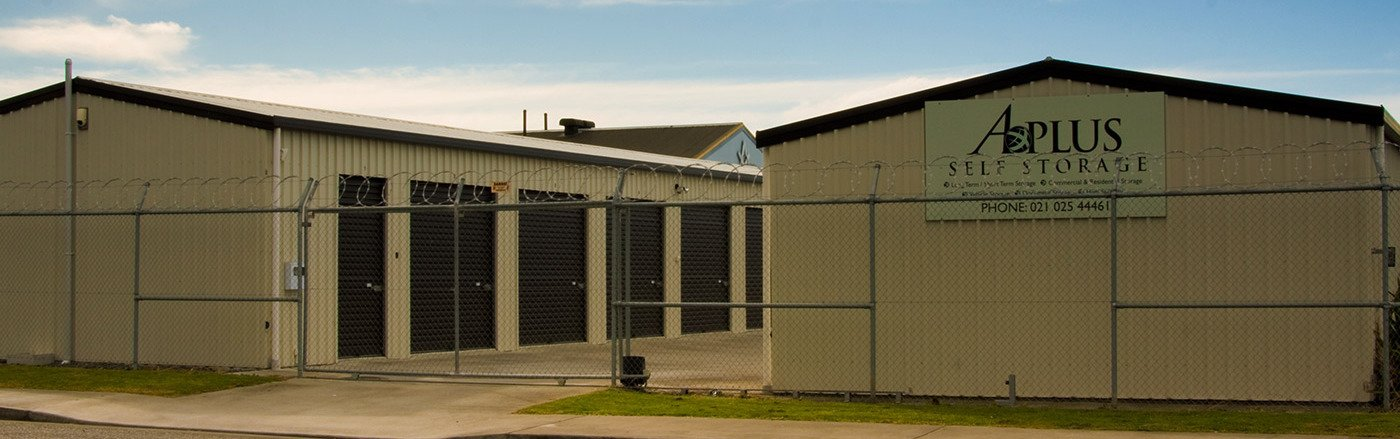 Superior self-storage for Hastings and Hawkes Bay & A Plus Storage | storage units | Hastings NZ