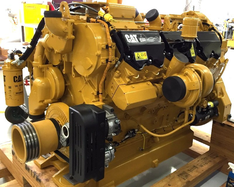 Caterpillar C32 diesel engine for Caterpillar 777F haul truck