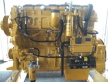 Caterpillar C15 | CAT C15 industrial diesel engine | Serial No. JRE