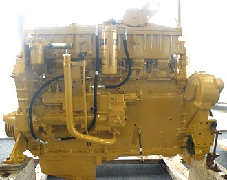 Caterpillar 3406C diesel engine for CAT D8R dozer | Serial No. 41Z, Arrangement 1110592