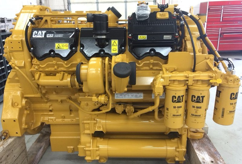 CAT C32 engines for CAT 777F haul truck