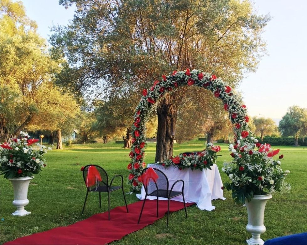 servizi floreali per matrimonio