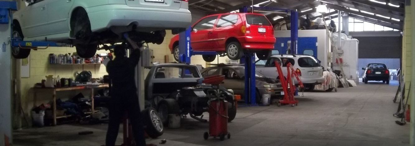 Our motor repairs garage in Rotorua