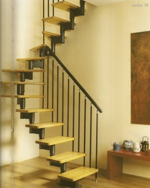 scale interne per minimi ingombri modulari