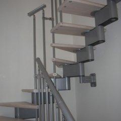 Scale interne modulari in alluminio e legno