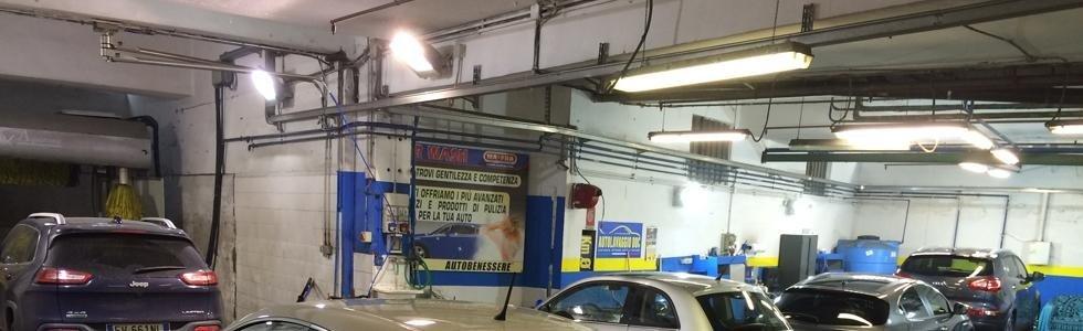Igienizzazione interni auto Torino