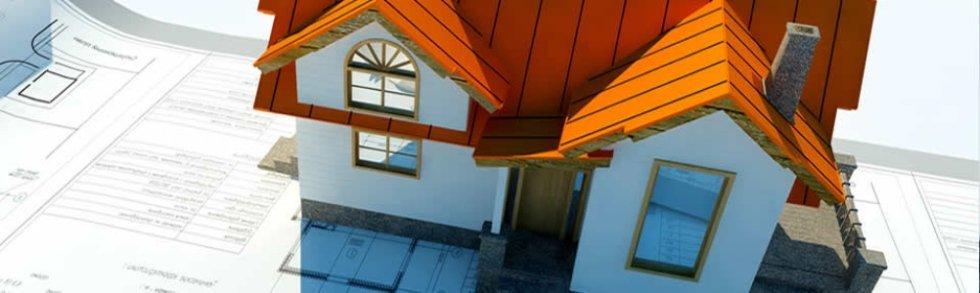 Modellino di case